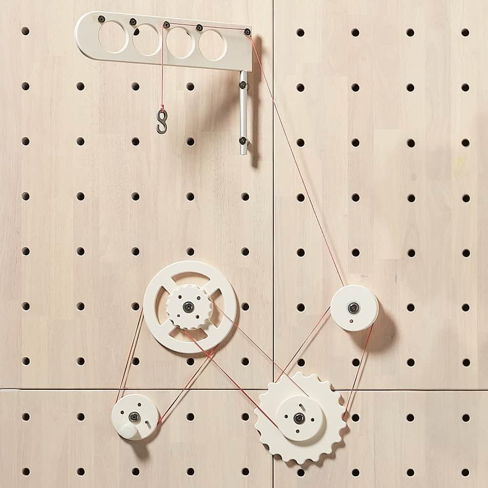 Stem Pulley Crane Set